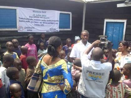 Plaidoyer et visite aux enfants déplacés