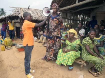 Sensiblisation des femmes au Maniema