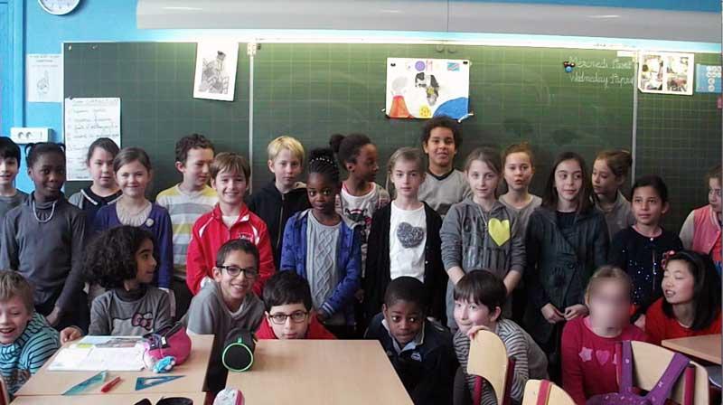 Solidarité des élèves français en 2014-15
