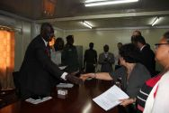 The signature took place at the SPLA headquarters in Juba©OSRSG-CAAC