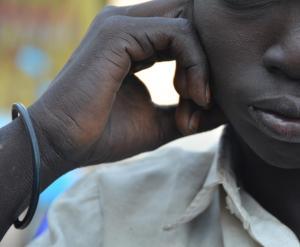 South Sudan Children Soldier