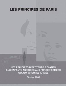 Les Principes de Paris (Fr)