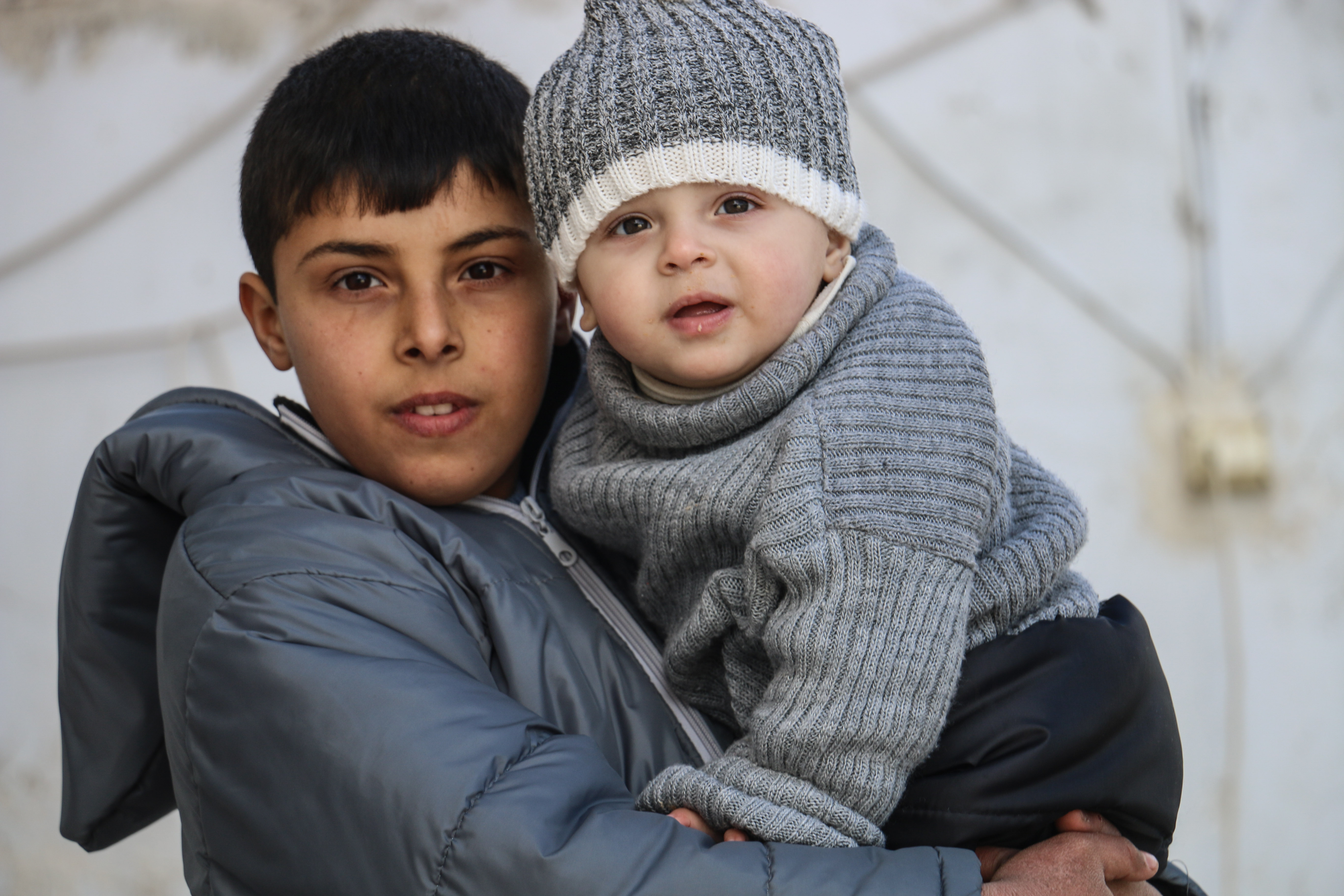 bd7d410b1 Children and families in Syria face dropping temperatures with ...