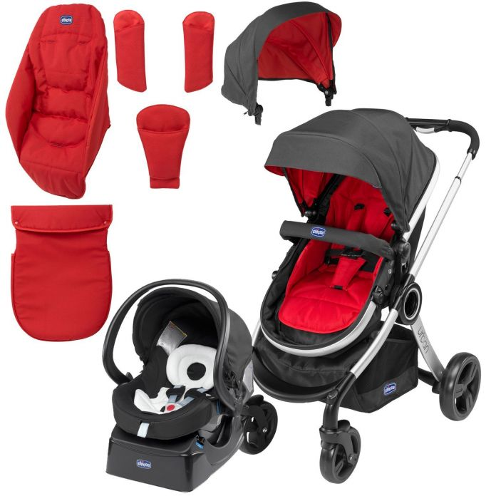 Childrens  Chicco Cochecito Travel System Urban Duo