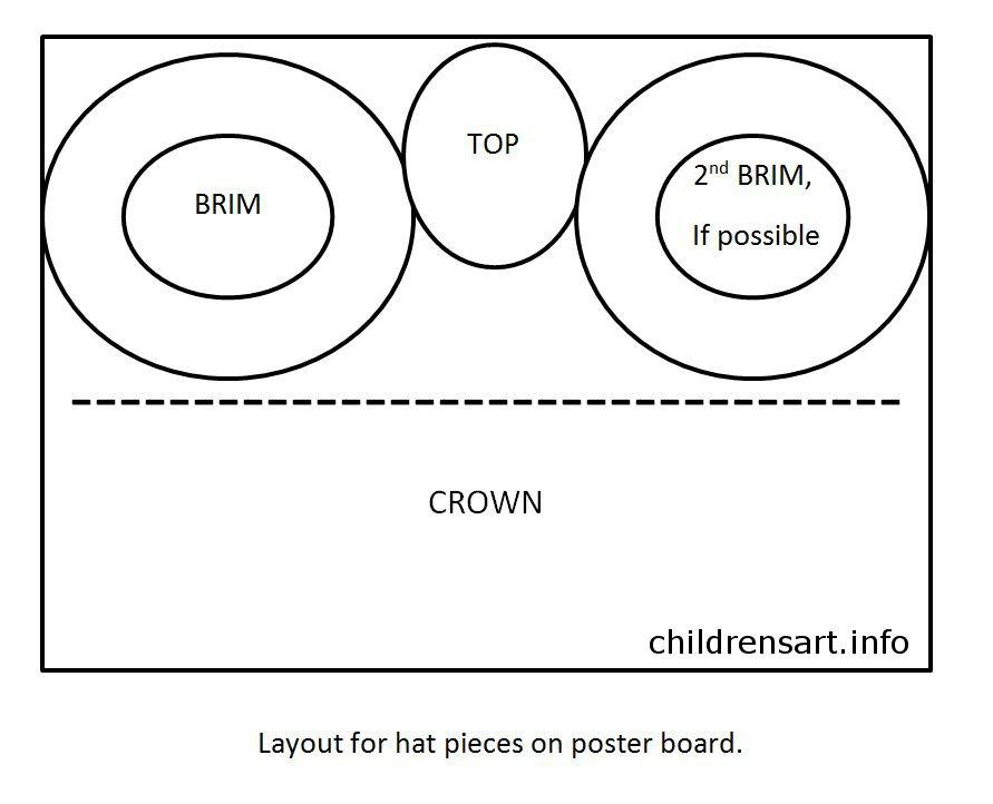 cozy top hat template for kids kids castrophotos