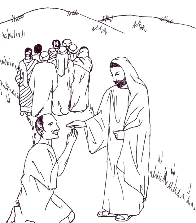1000+ images about JESUS HEALS THE TEN LEPERS !!! on Pinterest
