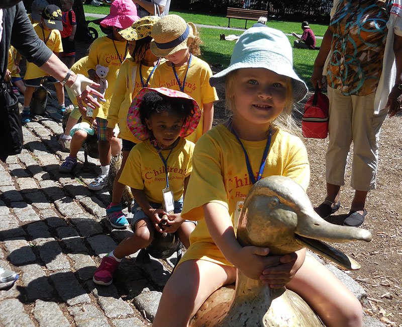 Summer Field Trip: Swan Boats and Make Way For Ducklings