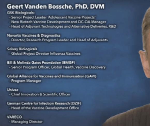 Geert Vanden Bossche, Ph.D., DVM