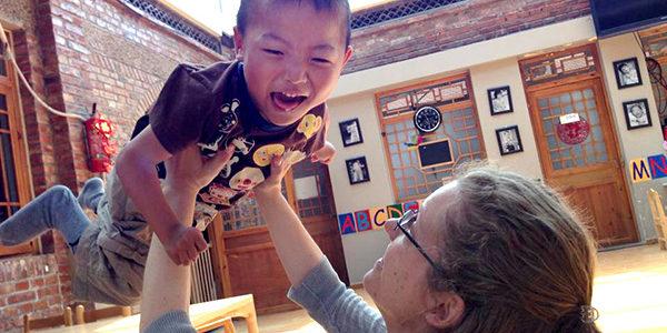 Volunteer at a China orphanage