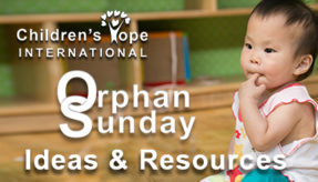 Download a sample guide for church participation in Orphan Sunday