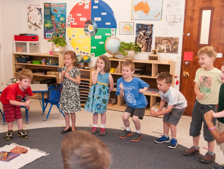 Children dancing -- additional programs included in tuition
