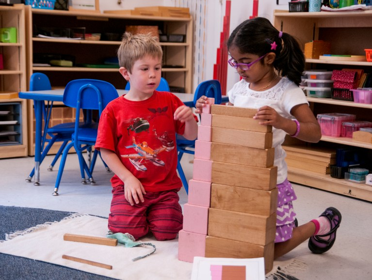 An Authentic Montessori School in the Heart of Reston