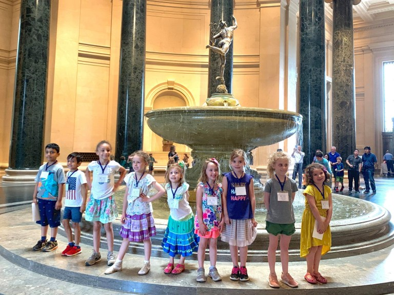 Visiting an Art Gallery with Children: Five tips to make it fun!