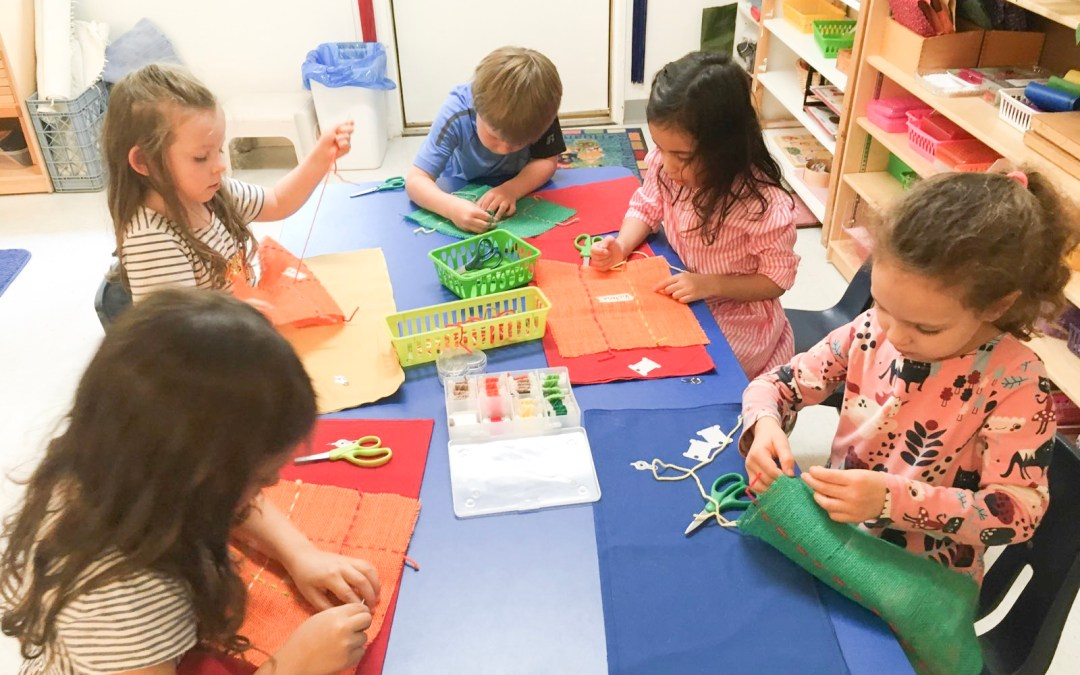 The First Weeks of School at Children's House