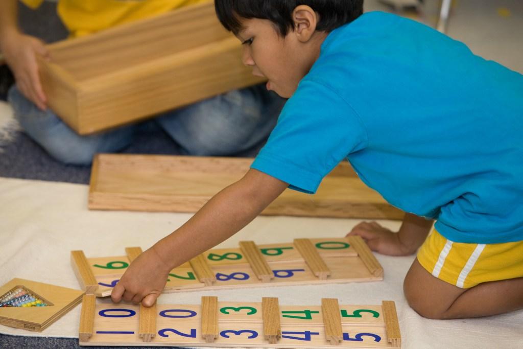 Understanding the Montessori Math Curriculum