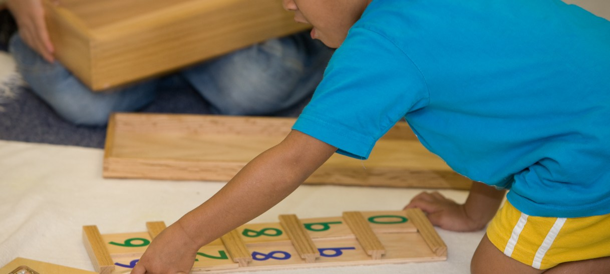 Understanding the Montessori Math Curriculum