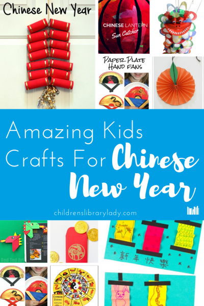 12 Amazing Kids Crafts for Chinese New Years Banner