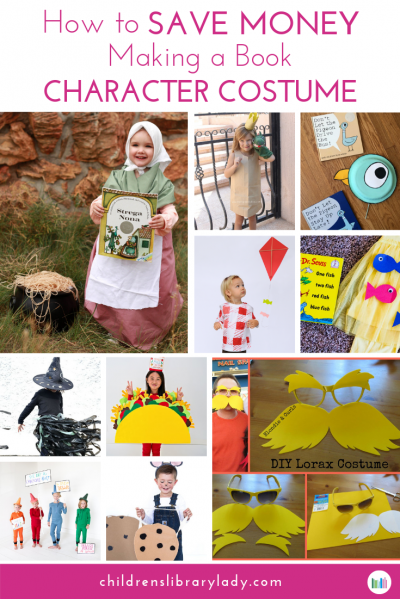 How to Save Money Making a Book Character Costume Pinterest B