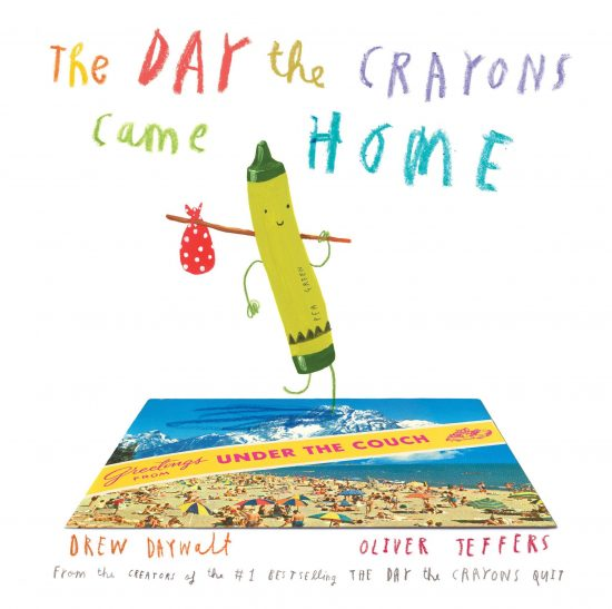 The day the crayons came home - Drew Daywalt