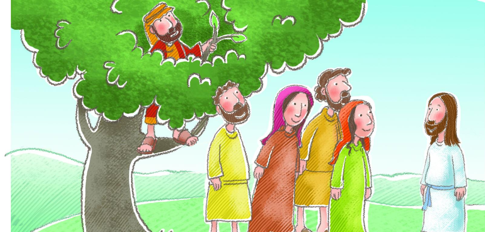 Zacchaeus For Kids Kids Matttroy