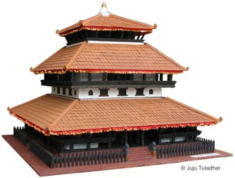 Model Kastamandap (Source: Rebuildkasthamandap.com)