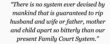 The Harm Caused By Family Court System - 2016