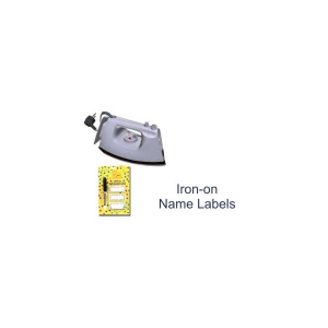 Iron on labels 15 pack w/pen - $5.99