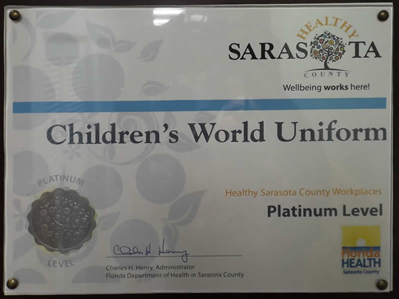 Healthy Sarasota Award