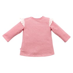 Bebe Isabel long sleeve Owl tee