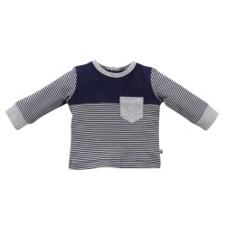 Bebe Finn spliced long sleeve tee