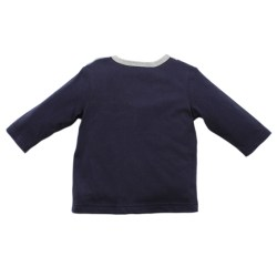 Bebe Archie Navy Tee with Bow Tie