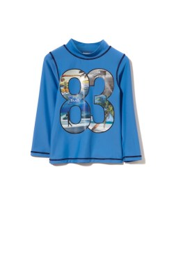Milky Long Sleeved Blue '83' Rashie