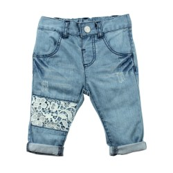 Bebe Anais Lace Patch Jean