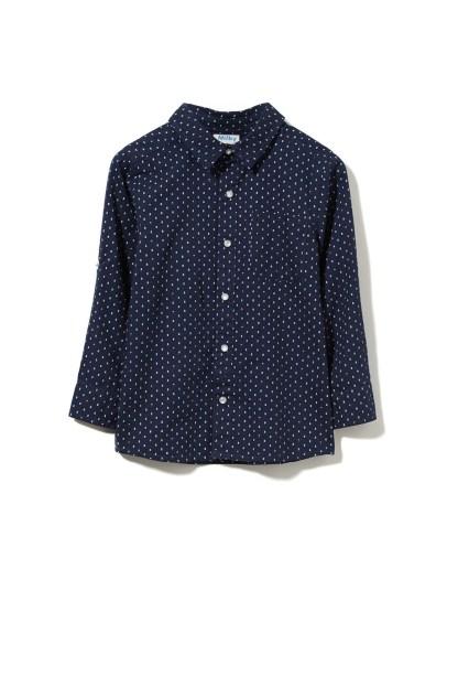 Milky Geo Dress Shirt