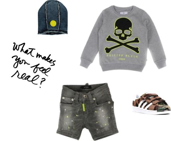 Stoere jongens outfit