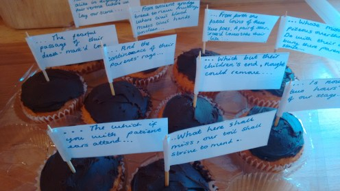 Romeo and Juliet quote cupcakes 2