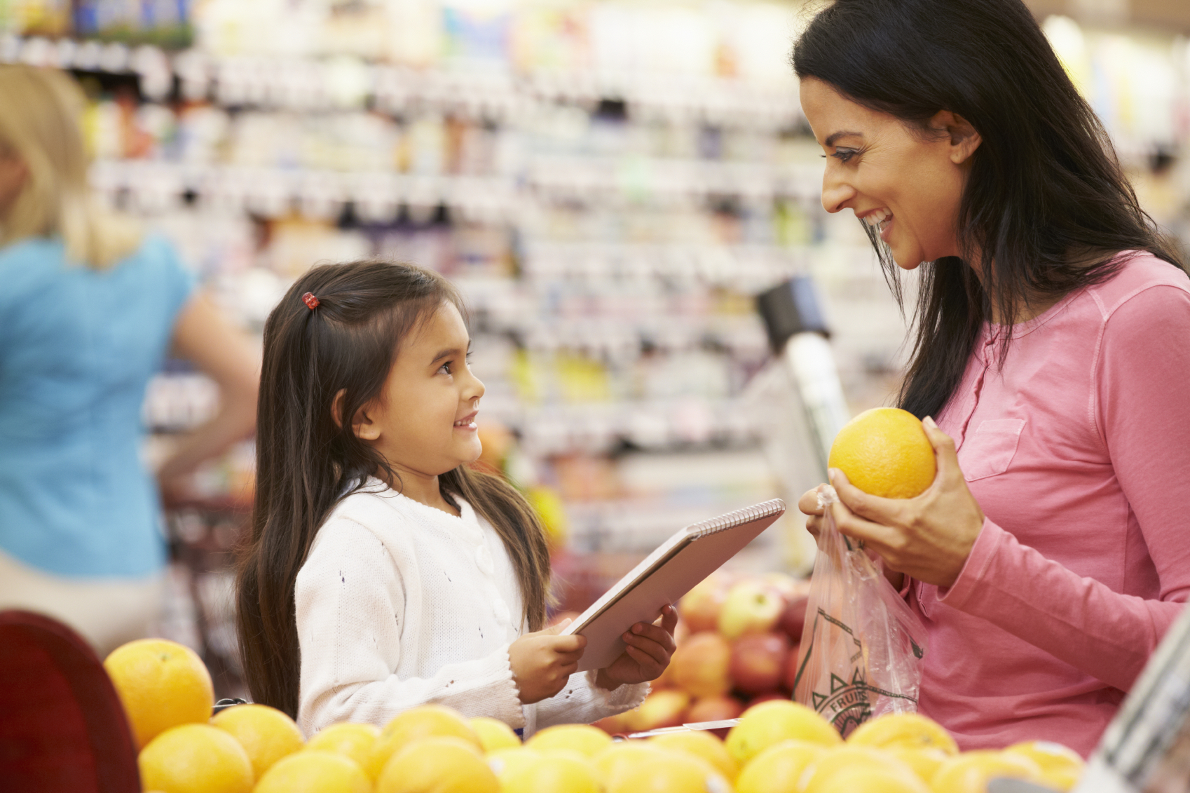 What Children Learn At The Grocery Store