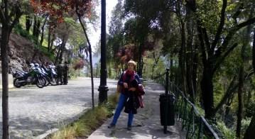 En el cerro Santa Lucía