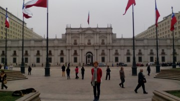 En el Palacio de La Moneda