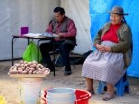 Patatera en Huantaro