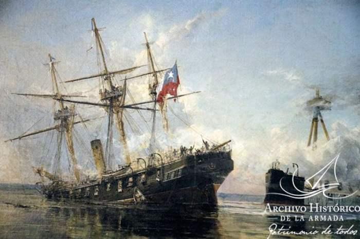 El Combate Naval de Iquique en los Partes oficiales de los comandantes de la Covadonga y el Huáscar