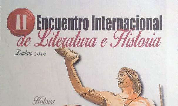 Ecos del Encuentro de Literatura e Historia, Lautaro 2016