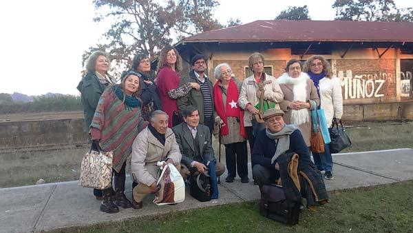 """Encuentro de Escritores """"Tren de Poesía Quillem 2016"""""""