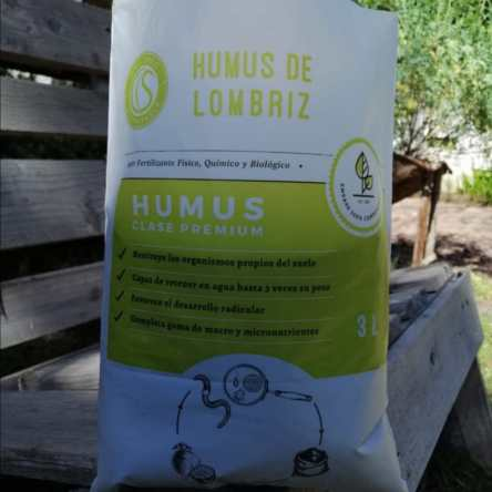 Humus de Lombriz CS