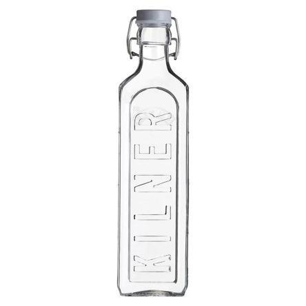 Botella Tapa Gris 1 Lt