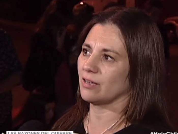 """""""No quiero seguir hablando"""": la pregunta que descolocó en vivo a mamá de Fernanda Maciel"""