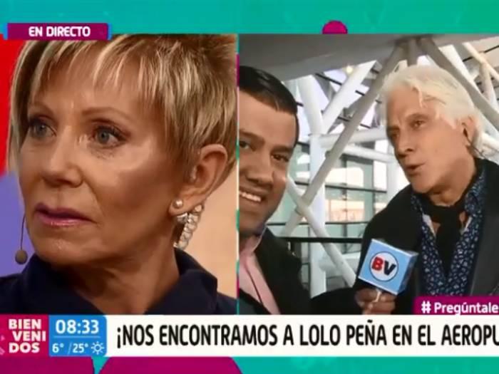 """""""Cállate voh…"""": Raquel Argandoña encaró en vivo a Martín Cárcamo por contacto con Lolo Peña"""