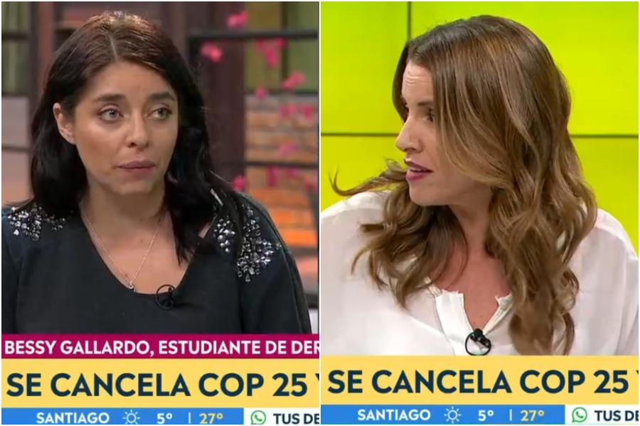 """""""No pongas palabras en mi boca"""": el tenso debate entre Bessy Gallardo y Montserrat Álvarez"""