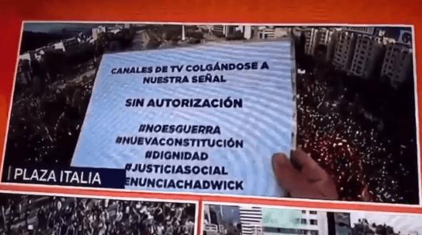 «Colgándose de nuestra señal sin AUTORIZACIÓN» la queja contra Canal 13 EN VIVO