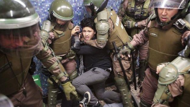 España ayudará en la represión del pueblo chileno
